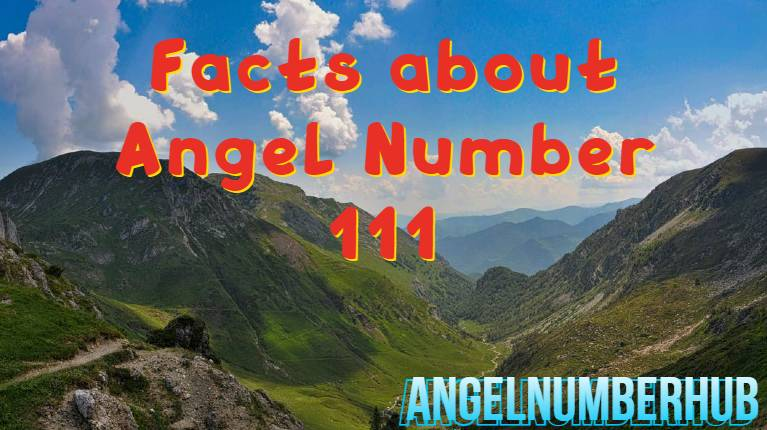 Facts about Angel number 111